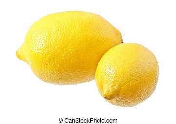 ripe, fresh lemon