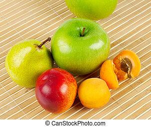 Ripe juicy fruit