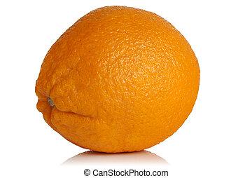 ripe juicy orange
