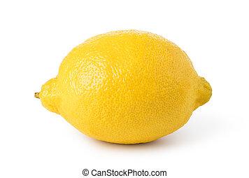 ripe lemon fruit