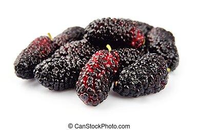 Ripe mulberry