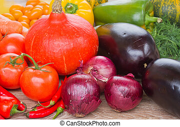 ripe of vegetables