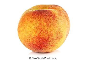 ripe peach.