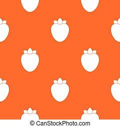 Ripe persimmon pattern seamless