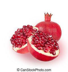 Ripe pomegranate