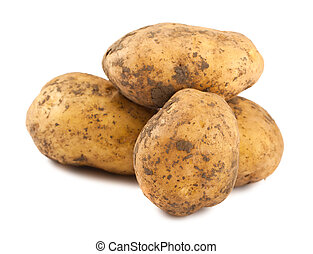 Ripe potatoes