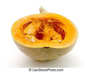 ripe pumpkin image