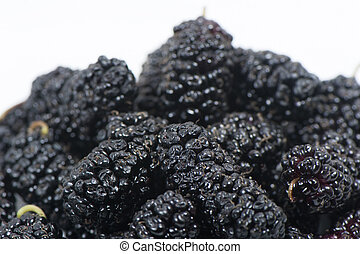 Ripe sweet mulberry