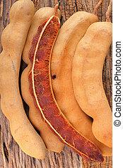 Ripe tamarind fruit  - Ripe tamarind fruit