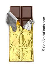 Open Chocolate Bar