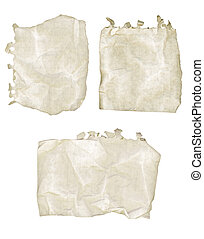 Ripped Paper Notebook