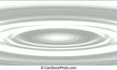 ripple in pond,swirl gray oval and round shaped hole.