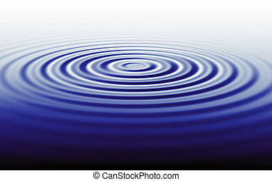 Rippled water waves illustration background