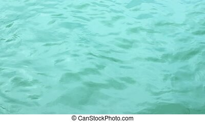 Rippling Water Surface - Open water surface background...