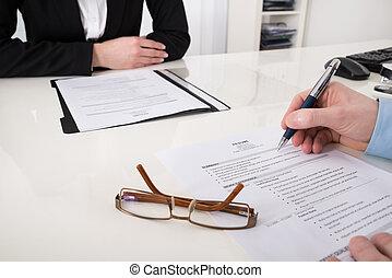 riprendere, businessperson, penna