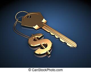 riqueza, llave