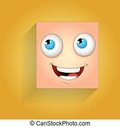 rir, smiley