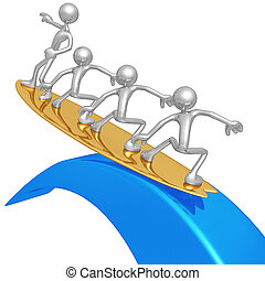 rischio, amministrazione, surfing