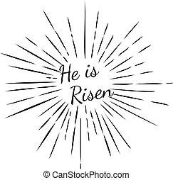 risen, hij