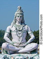 rishikesh, shiva, インド, 像
