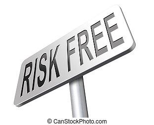 risiko, frei, zone