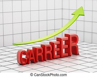 Rising carreer success