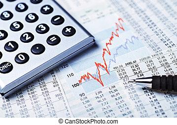 Rising stock prices