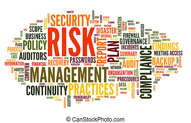 risk and compliance in word tag cloud - Risk and compliance ...