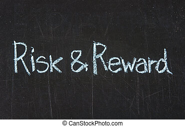 Risk and Reward on blackboard