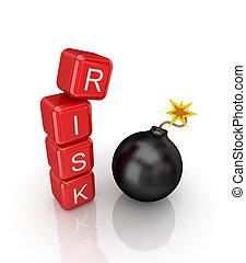 Risk concept.