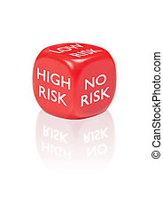 Dice with different risk outcomes