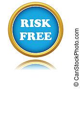 risk-free, garantie, icône