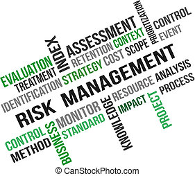 RISK MANAGEMENT - A word cloud of Risk management related ...