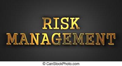 Risk Management. Business Concept.