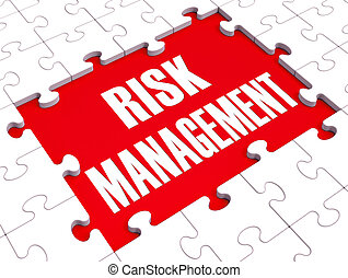 Risk Management Shows Identifying And Evaluate - Risk...