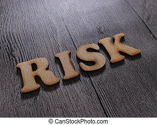 Risk, Motivational Words Quotes Concept