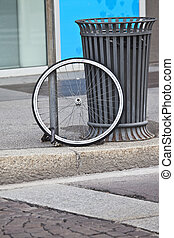 risk of stealing a bicycle in the city