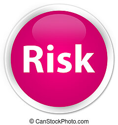 Risk premium pink round button