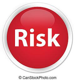 Risk premium red round button