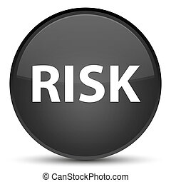 Risk special black round button