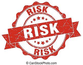 risk stamp. sign. seal