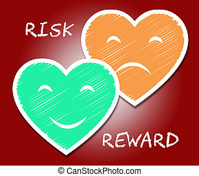 Risk Versus Reward Analysis Words Contrasts The Cost Of A...