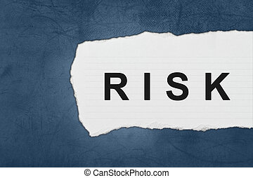 Risk with white paper tears