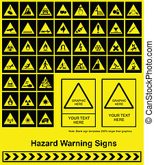 riskeren voorteken, waarschuwend