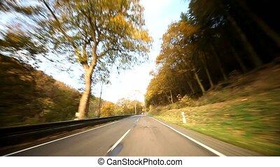 risky passing car - video footage of a risky passing car
