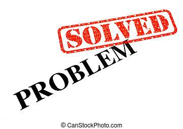 risolvere, problema