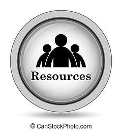 risorse, icona