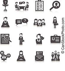 risorse umane, icona