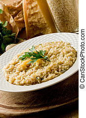 Risotto with Grana Parmesan Cheese - photo of delicious ...