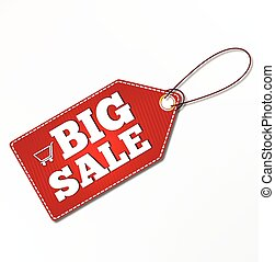 risparmi, etichette, set, vendita